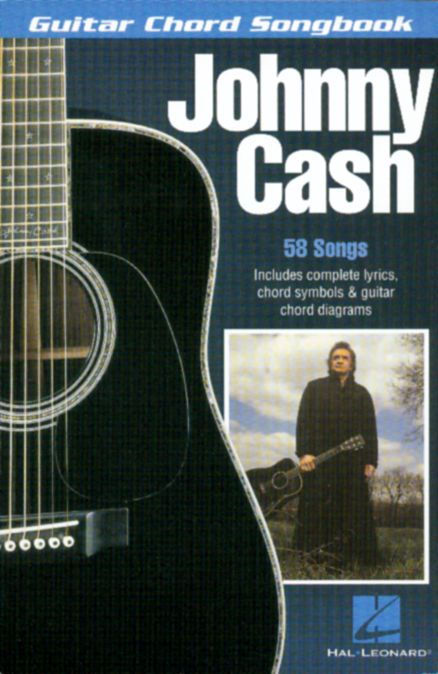 Cantando Musikkforlag As Johnny Cash Guitar Chord Songbook